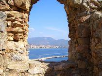 Blick auf Alanya von der Burg aus. von Ulrich Hohle