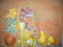 Obst mit Blumen von Ulrich Hohle