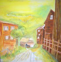 Dorfstrasse von Ulrich Hohle