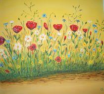 Blumenwiese von Ulrich Hohle