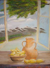Blick aus dem Fenster by Ulrich Hohle