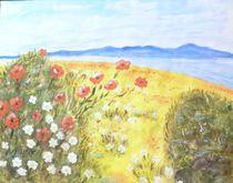Blumen am Strand von Ulrich Hohle