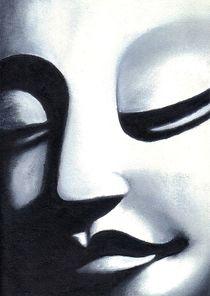 Buddha lächelt by Konstanze Becker