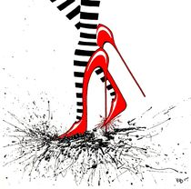 High Heel 2 by Konstanze Becker
