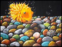 Kugelfisch von Konstanze Becker