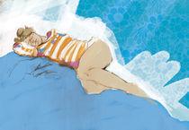 schlafend von Sabine Lehmann