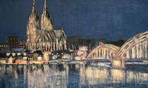 Köln bei Nacht by Anna Maier
