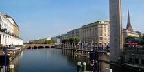 Panorama Hamburg von gcphoto