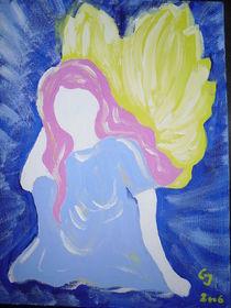 Träumender Engel von Christine Jakob