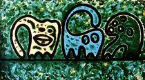 Affen im Urwald von Markus Johne