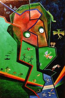 Frosch in der Wiese von Markus Johne