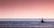 Fischkutter vor Büsum IV von Dirk Jacobs