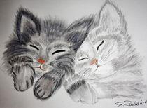 Junge Katzen von Roswitha Rudzinski