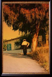 Griechischer Charly Chaplin  von Su Purol