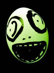 Green Skull Egg von marple