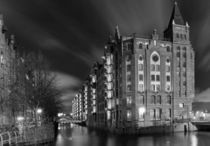 Hamburg bei Nacht von Harald Braun