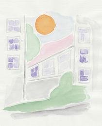 Sonnenhitze in der Stadt von Heike Nedo