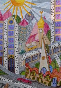 Musik in der Stadt by Heike Nedo