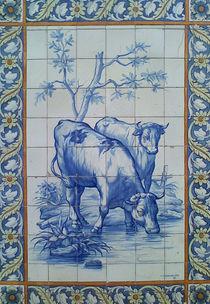 Fliesenbild aus Lissabon by Heike Nedo