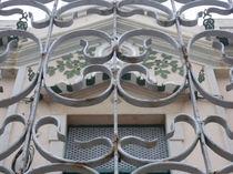 Schmiedeeisernes Tor - Ornament von Heike Nedo