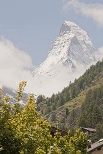 Matterhorn im Frühling von Christine Amstutz