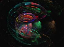 Ein sphärisches Universum Digital Kunst