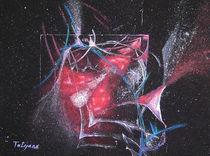 Drachenflug (Acryl auf Leinwand, 30x40) von Tetyana Vasylyeva