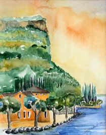 Gardasee von Inez Eckenbach-Henning