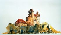 Burg Berwartstein von Inez Eckenbach-Henning