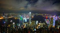 Hong Kong Nachtpanorama by marflo