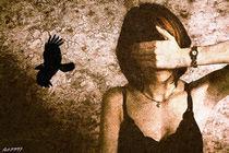 Ich sehe schwarzes Licht  by Falko Follert