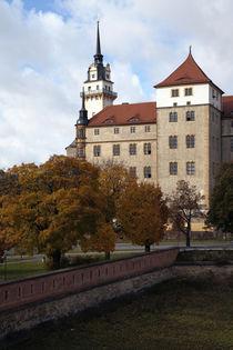 Schloss Hartenfels im Herbst von Falko Follert