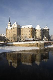 Schloss Hartenfels im Winter by Falko Follert