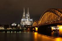 Köln bei Nacht by Jennifer Schmitz