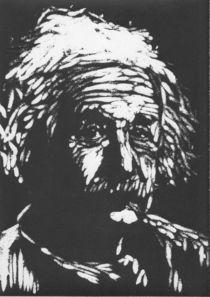 Albert Einstein von Leonie Woeller