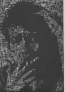 Bob Dylan von Leonie Woeller
