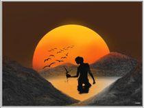 Sonnenuntergang von Wolfgang Kemper