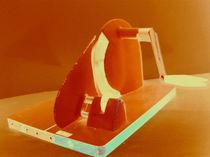 Eine alte Handbrotmaschine von Anke Tarabay