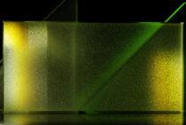 Lichtblicke - goldgrüne Dreicke & Rechteck by Gerald Albach