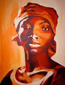 Portrait rot von Sabine Freivogel