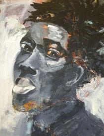 Portrait schwarz by Sabine Freivogel