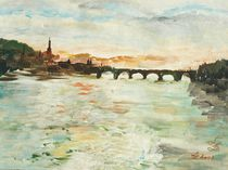 Alte Brücke by Lydia Billert