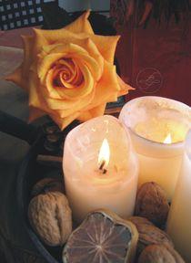 Kerzenlicht von Lydia Billert