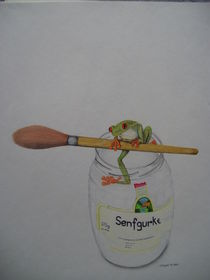 Frosch von Angelika Wegner