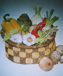 Gemüsekorb von Angelika Wegner