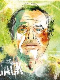Jack Nicholson  by Oliver Muth