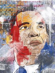 Barack Obama by Oliver Muth