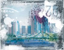 Frankfurt Skyline von Oliver Muth