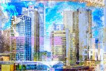 Frankfurt Skyline Banken von Oliver Muth