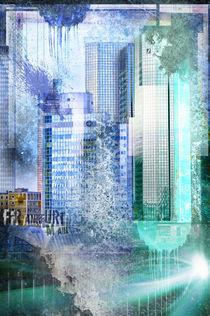 Frankfurt Skyline Banken 2 von Oliver Muth